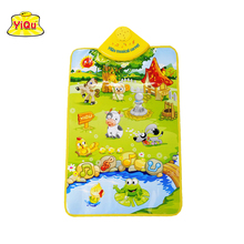 Free Shipping Baby Play Mats Farm animal Baby Playing Mats Crawling Rug Carpet Blanket floor mats musical carpet mat for the kid
