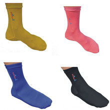 Wholesale 3Pair/lot Lycra Surfing Diving Swimming Socks Anti-uv Snorkeling Swimming Fins Socks Rash Guards