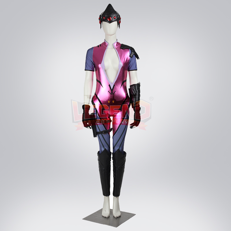 Widowmaker cosplay Amelie Lacroix cosplay costume full set adult costume with helmet