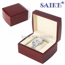 Wholesale Wooden Watch Box Red Luxury Watch Box Watches Gift Box Storage Box For Watches B078