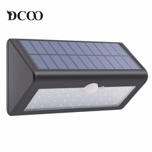 Dcoo Solar Lamps 38LEDs Lights Bright Wireless Motion Sensor Garden Decoration Solar Light Outdoor Lamp Solaire Tuinverlichting(China)