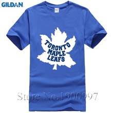 Unique 2017 New Summer Toronto Fashion T Shirt Casual T-Shirt Maple Leafs Logo Printed Mens Tops TeesShirts Homme Novelty T-shir