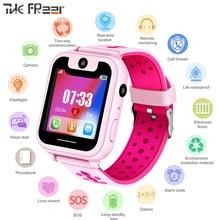 2018 New Top GPS Children's Watch Kinder Caring for Children One-button Alarm SOS Notfall HandyErinnerung Smart Watch Men Woman(China)