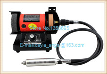 220V Double Wheel Grinding Pivots Polishing ,ElectricBench Grinder Machine Online Hot Sale(China)