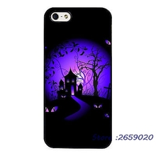 Halloween Scary Haunted House mobile phone cover case for iPhone 5 6S Plus 7 7Plus Samsung Galaxy S4 S5 S6 S7 edge Note3 4 5