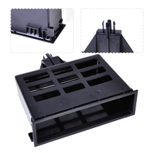 Black Dashboard Center Storage Tray Cubby Box 3B0857058 1J0857058A Fit for VW Jetta Golf MK4 Bora Passat B5 Sharan Transporter
