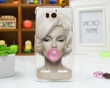 Protector 3D DIY Painted Case For Huawei Honor 2 U9508 U8950D Brilliant Painting Beautiful For HUAWEI Honor 2 case cover Holder(China)