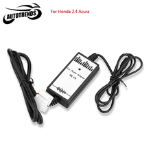 Car Auto Audio MP3 Player Interface Aux In Adapter Cable for Honda 2.4 AUX Audio Adapter 3.5mm
