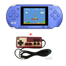 "RS-15 Classic Retro Game Console Handheld Portable 3.25"" more 300 Games Pocket free cartridge 2nd Player Controller"