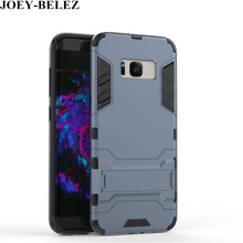 For Samsung Galaxy S8 plus S6 S7 Edge J5 J7 prime Phone Case Armor Hybrid Hard PC Back for Samsung J3 J5 2016 A5 A7 2017 cases(China)