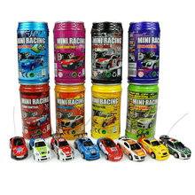 Multicolor Coke Can Mini Speed RC Radio Remote Control Micro Racing Car Toy Gift(China)