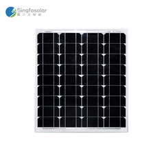 Cheap China 50W Solar Panel Solar Cell Prices Monocrystalline Solar 12v Solar Battery Charger 12v Camping Boat Marine(China)