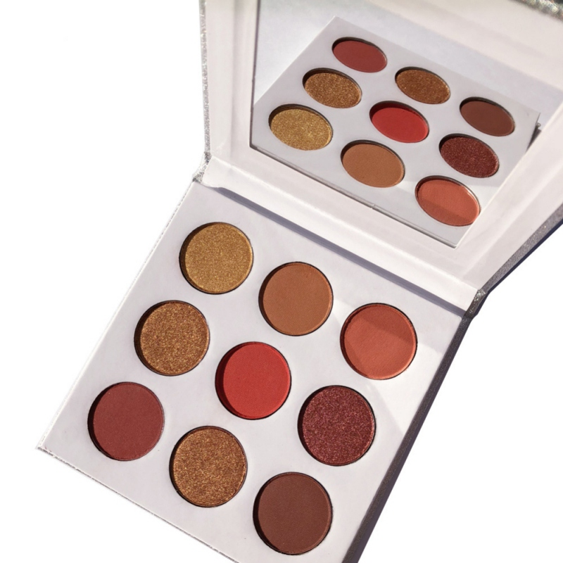 9Colors Eye Shadow Palette Natural Shimmer Matte Eyeshadow Powder Brand Professional Eyes Makeup Pallete Maquiagem 7