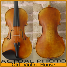 "Antonio Stradivarius 1714 ""Soil"" Violin Model, Antique varnish,Free violin case , bow and rosin,No.2275"