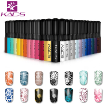 KADS Stamp polish 1 Bottle/LOT Nail Polish & stamp polish nail art pen 31 colors Optional 10g More engaging 4 Seasons(China)