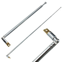 Hot Sale Durable 310991702355 AM FM Radio Telescopic Antenna Replacement 63cm Length 4 Sections Home Audio Video Equipments(China)