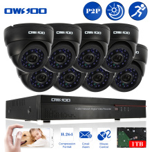 OWSOO 16CH Full CIF DVR 800TVL HD Outdoor Surveillance Security Camera System 8 Channel CCTV DVR Kit HD Camera Set With 1TB HDD