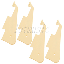 4pcs PVC Pickguard For Gibson Les Paul Guitar 2.4MM Thick High Quality
