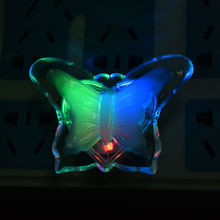 Romantic LED Butterfly Night Light Lamp Energy Saving Wall Night Lamp Decoration Bulb For Baby Bedroom Home Decor 1Pcs(China)