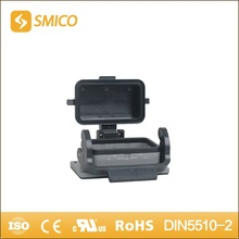 SMICO H10B-ST-CV-1L heavy duty connector Al-alloy Die-cast Material top entry hood with UL certificate(China)
