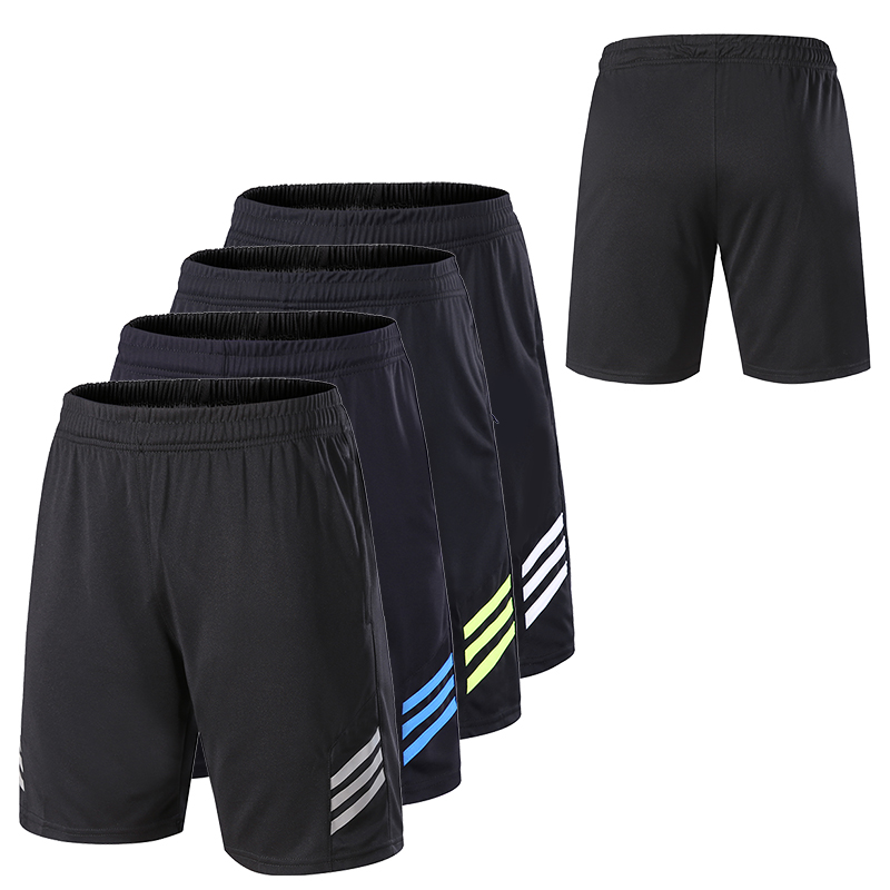 Men Gym Workout Shorts With Pockets Quick Dry Breathable Training Loose Basketball Shorts Men Fitness Running Sport Shorts