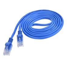1m/1.5m/2m/3m/5m/10m CAT5 100M RJ45 Ethernet Cables 8Pin Connector Ethernet Internet Network Cable Cord Wire Line Blue(China)