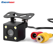 NTSC 170Degree Wide Lens 4LED Car Rear View Camera Vehicle Parking Assistance Backup Reverse Night Vision+Parking Line