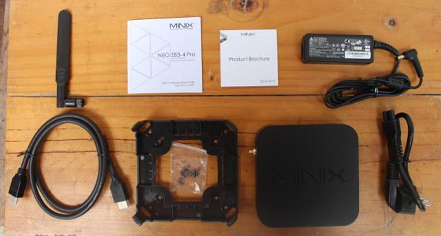 MINIX-NEO-Z83-4-Pro-Power-Supply-VESA-Mount-WiFi-Antenna