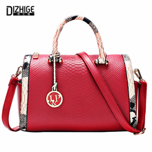 Bolsos Mujer 2015 Fashion Serpentine Leather Bags Handbags Women Famous Brands Ladies Shoulder Bags Designer Sac De Marque