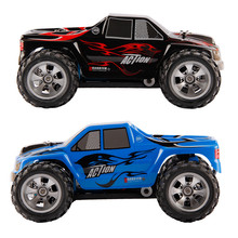 Wltoys A979 1:18 2.4G 4WD RC Truck 50KMH High Speed Racing Truck Rubber wheels Powerful motor  50 km/h Charging truck Remote