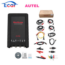 Original Autel MaxiScope MP408 4 Channel Automotive Oscilloscope Basic Kit Works with Maxisys Tool MaxiScope MP408 Free Shipping