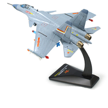 1/72 Scale KAIDIWEI Fighter Plane Model Toys J-15 Flying Shark Flanker-D Carrier-based Aircraft Diecast Metal Plane Toy For Gift