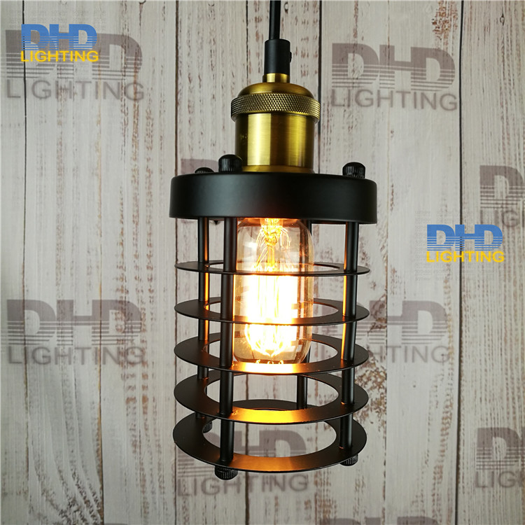 metal lamp cage Copper lamp holder cages vintage pendant light pendant light bulb Antique lamp<br><br>Aliexpress