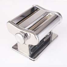 Stainless Steel Manual Pasta Maker Machine Dough Thickness Adjustable Noodle Making Machine
