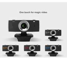 VENICO Mini USB 2.0 webcam hd Webcam Camera Web Cam Pixel Camera cheap webcam with microphone For Skype Computer PC Laptop(China)