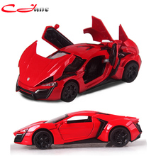 Free shipping 1: 32 roadster Simulation zinc Alloy toy sports car Models  Four Colors Metal Classic Cars Christmas toys