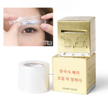 1 Box Microblading Plastic Wrap 42mm*200m Permanent Makeup Preservative Film Tattoo Accessories Eyebrow Cover(China)