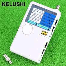 KELUSHI Network cable NF3468 Multi-functional Handheld versatile 4 In 1 Cable Tester cable locator Cable Tester(China)