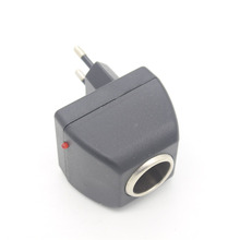Car Charger Switch Digmax Cigarette Lighter Conversion Socket Domestic 220V Turn 12V Charger Conversion Auto Accessories