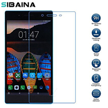 "9H Premium Tempered Glass Screen Protector Film For Lenono Tab3 730 730F 730M 730X TB3-730F TB3-730M 7""Tablet Screen Protection"