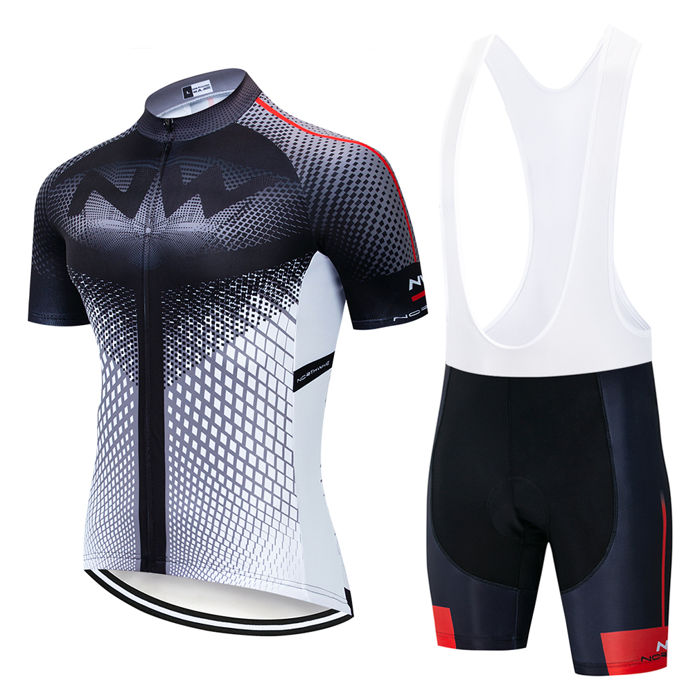 NW Brand Summer Cycling Jersey Set Breathable MTB Bicycle Cycling Clothing Mountain Bike Wear Clothes Maillot Ropa Ciclismo