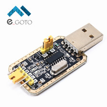 5Pcs CH340G RS232 Update USB To TTL Converter Module UART Serial Port UFS-HWK STC Dowanloader Programmer Brush Small Plates(China)
