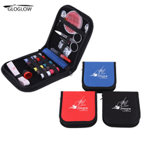 Portable Thread Stitches Needles Tool Mini Travel Home Household Sewing Kits Bag Cloth Buttons Craft Scissor Travel Sewing Case(China)