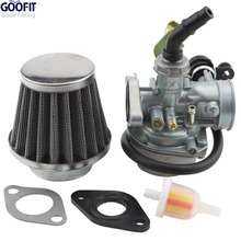 Buy GOOFIT ATV Quad Go-kart PZ19 19mm Air Filter Cable Choke Chinese 90cc 110cc 125cc for $17.88 in AliExpress store