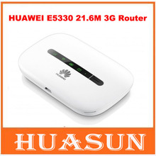 Original Unlocked Huawei E5330 3G 21.6Mbps Mobile WiFi Hotspot mini pocket wireless router