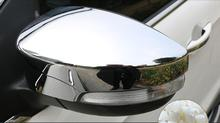 Buy Chrome Door Side Mirror Cover Fit 2013 2014 2015 2016 Ford Ecosport Rear View Trim Molding Garnish Overlay Cap Decoration for $24.44 in AliExpress store