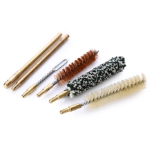 Hot Sale 7Pcs Pocket Pistol Hunting Gun Cleaning Tool Kit Accessories Rifle Pistol Gun Brush Mop Storage Handle Case