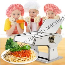 Stainless steel Manual Pasta noodle Machine making for dough roller Noodle Dough Fresh Stainless Spaghetti noodle maker machine