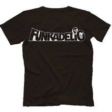 Funkadelic T-Shirt 100% Cotton George Clinton Bootsy Collins P-Funk shubuzhi top tees(China)