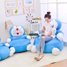 Dorimytrader 100cm X 80cm Qualilty Lovely Soft Plush Cute Luxury Doraemon Sofa Giant Anime Doraemon Toy Tatami Present DY60748(China)